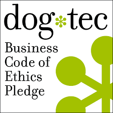 dog tec business code of ethics badge